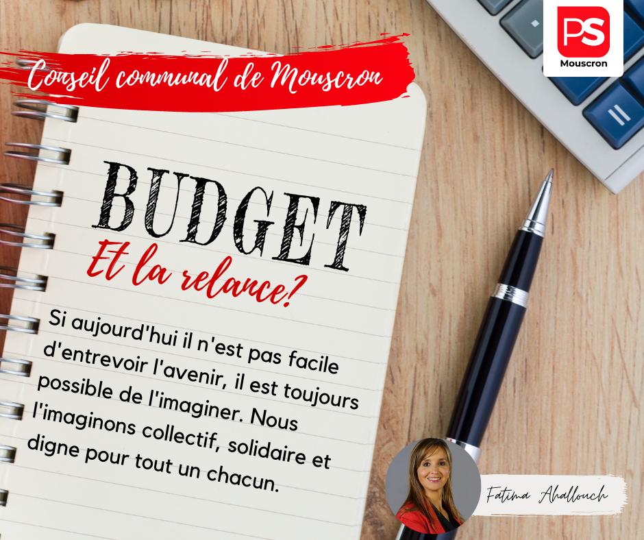 Budget Mouscron relance