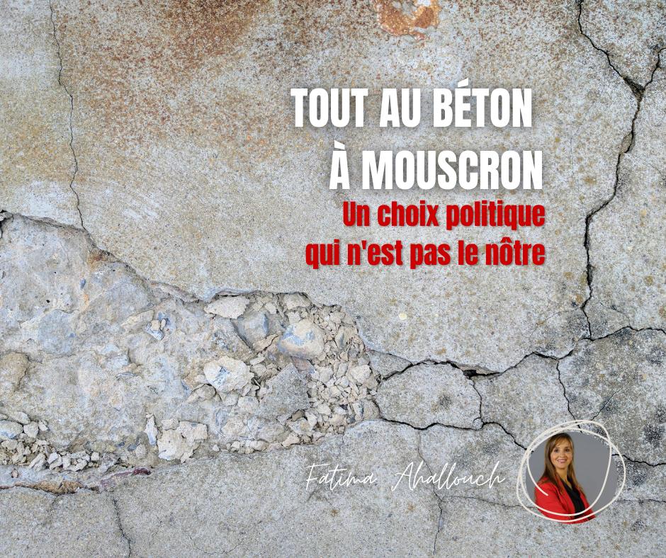 Béton à Mouscron